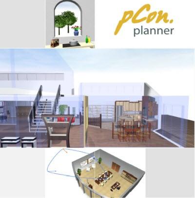 Pcon planner software per progettazione interni easy world for Progettazione interni software